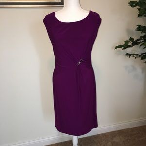 Chaps fit & flare dress